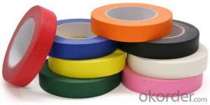 Crepe Paper Tape Printed Tape Colorful Tape
