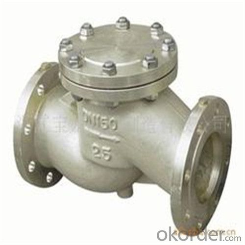 API Cast Steel Check Valve 80 mm in Accordance with ISO17292、API 608、BS 5351、GB/T 12237
