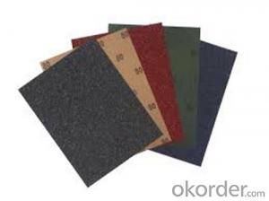 Waterproof Abrasives Sanding Paper  for Wall and Inox Surface