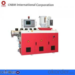 Screw Extruder Machinery   for  The Production Of PVC/PP/PC