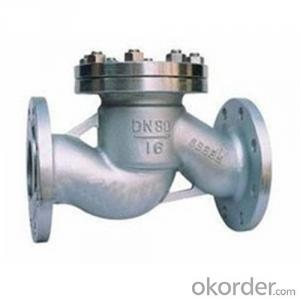 API Cast Steel Lift Check Valve Size 450 mm