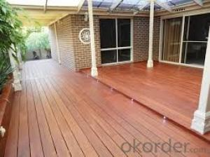 Tigerwood Solid Wood Decking with low price