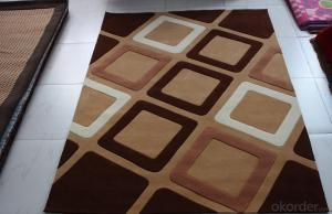 Hand Made Carpets and Rugs with Simple Design