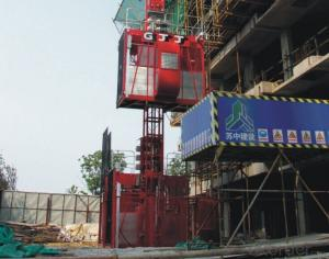 Building Hoist SC200 ,Realize Accurate Low Speed Positioning of the Hoist