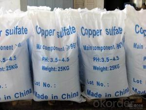 Copper Sulfate with the Very Good Quality with Best Price
