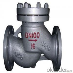 API Cast Steel Lift Check Valve Size 200 mm