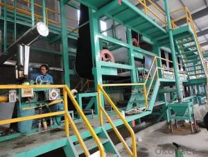 SBS Bitumen Waterproofing Membrane Machinery Production Line