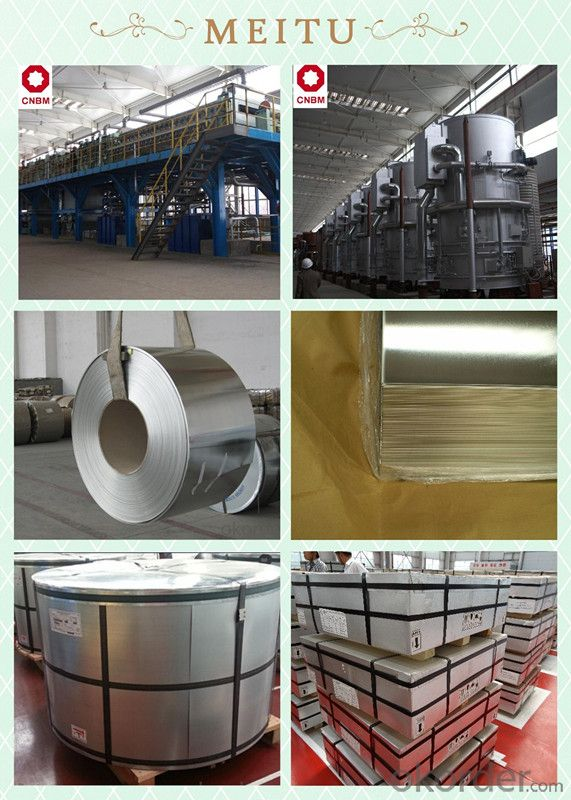 Electrical Tinplate, JIS G3303 Standard For Food Cans & Industrial Cans