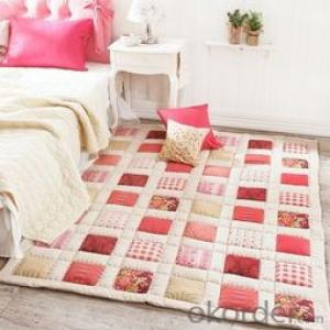 Carpets Soft Shaggy  Flower Styled  Customized