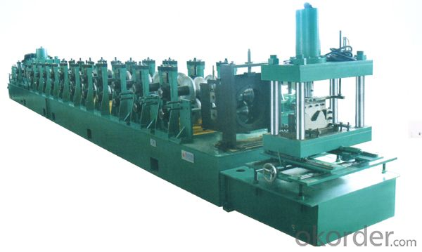 High-Way Guard Rail Roll Forming Machine