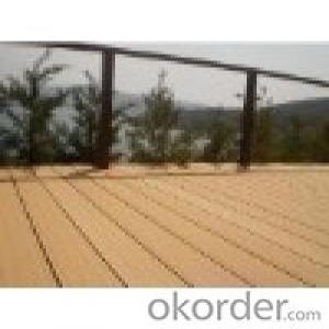 waterproof wooden plastic composite WPC flooring