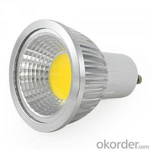 LED Spotlight  100-250V Dimmable GU10 COB 5W