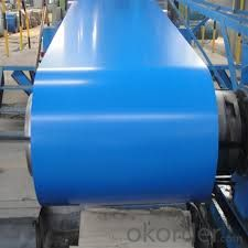 Manufacturing Prepainted Galvanized Steel with Zinc Coated