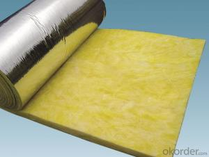 Glass Wool Bare Blanket for Thermal Insulation