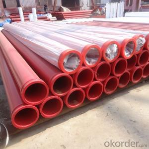 CZBY Concrete Pump Delivery Pipe with SK Flanges