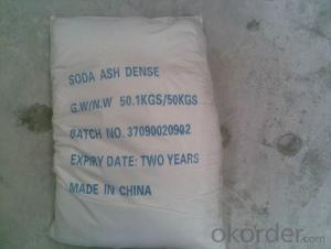 Soda Ash with the Good Quality with Competitive Price