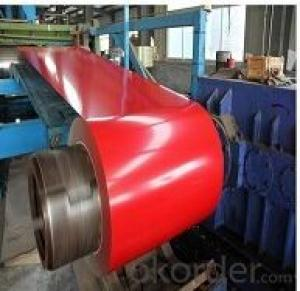 0.12mm~1.3mm Prepainted Galvanized Steel Coil for Buildings