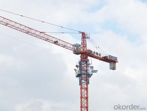 4T top quality tower crane with CE ISO certificate