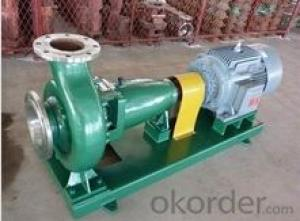 Horizontal Corrosive Chemical Centrifugal Liquid Pump