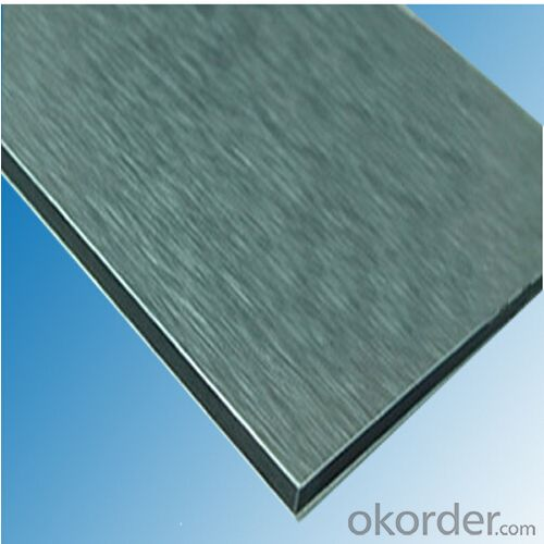 Brushed Aluminum Composite Panel for Decoration