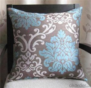 Cushion with Different Embroidery and Colors