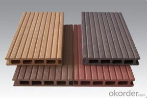 Eco-friendly outdoor wpc decking/waterproof flooring