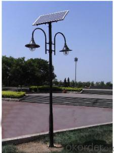 3.5M 20W LED Solar Garden Light, Solar Courtyard Light