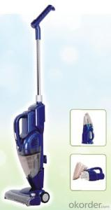 Rechargable DC vacuum cleaner with battery#CNRS001