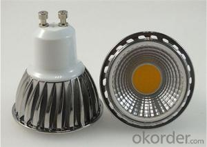 LED COB Spotlight  GU10 5W 100-250V Dimmable