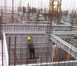 Whole Aluminum Formwork System for Concrete House