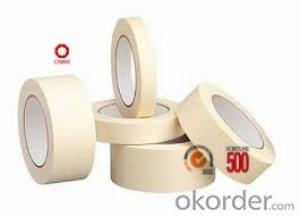 Masking Tape with Crepe Paper Rubber Adhesive