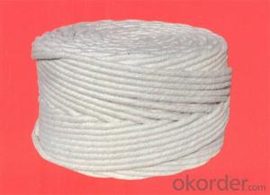 ceramic fiber round braided packing for refractory use