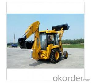 Backhoe Loader with 0.25/0.75m3 Bucket Capaticy