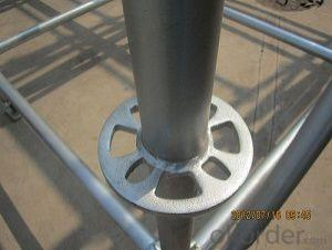 Construction Ringlock Scaffolding Easy Assembly Top Quality Metal