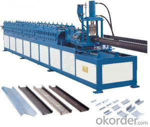 Z Purlin Forming Machine for Steel Processing