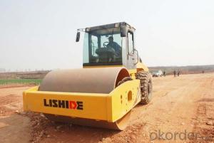 LISHIDE BRAND SINGLE DRUM ROAD ROLLER RM206