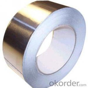 Self Adhesive Aluminum Foil Tape Synthetic Rubber Based Discount