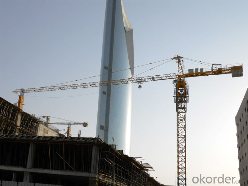 10T top quality tower crane with CE ISO certificate QTZ160