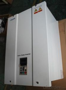 solar pump inverter  CE LCD display with MPPT function three(3)phase AC (0.5KW-55KW)