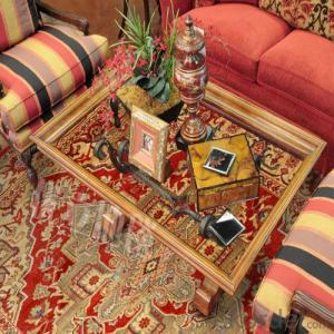wool / Polyester Carpet through Machine Make with Art Design