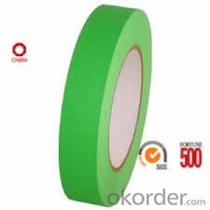 Masking Tape Green Color 160 Micron SGS&ISO9001 Certificate