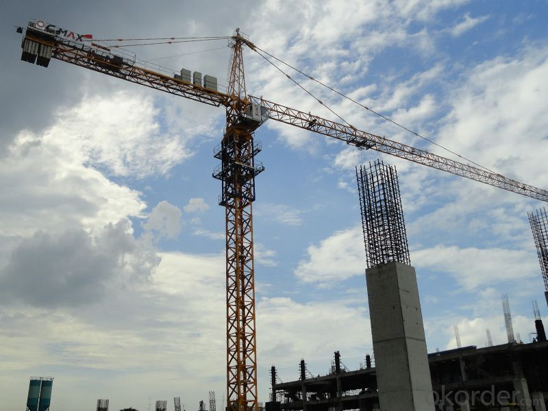 12T topless tower crane with CE ISO certificate