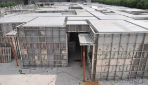 Light Whole Aluminum Formwork System for Commercial Building