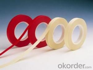 Masking Tape Red Color Rubber Adhesive 150 Micron