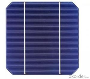 125 Mono Solar Cell 5 Inch Efficiency 2.85W-3.5W