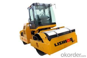 LISHIDE BRAND SINGLE DRUM ROAD ROLLER YZ12C