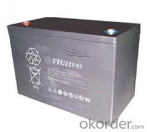 Gel Battery the TTG Series Battery TTG12V52