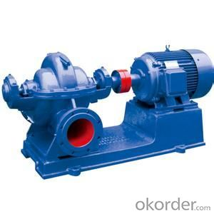 S SH Double Suction High Flow Rate Centrifugal Water Pump