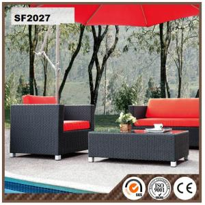 PE Rattan Cheap Dark Brown Rattan Chairs Outdoor Furniture HS-10355C