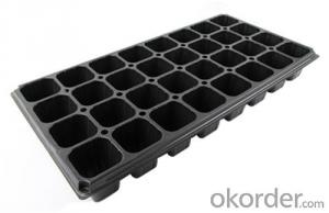 Plastic Seed Tray Plug Tray for Green House Nursery Plug Tray Square Nursery Plug Tray